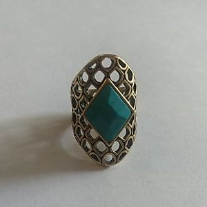 Luck Brand Turquoise Ring